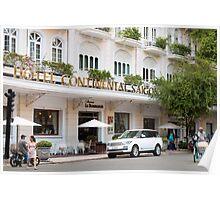 Hotel Continental Saigon Poster