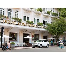Hotel Continental Saigon Photographic Print
