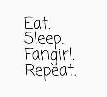 Eat.Sleep.Fangirl.Repeat. Unisex T-Shirt
