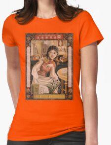 Vintage poster - Ken I Kohojo Tablets Womens Fitted T-Shirt