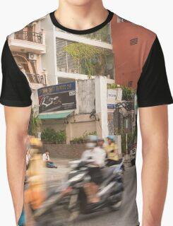 Rush Hour Saigon Vietnam Graphic T-Shirt