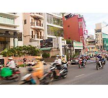 Rush Hour Saigon Vietnam Photographic Print