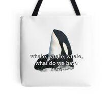 Whale Whale Whale... Sticker Tote Bag