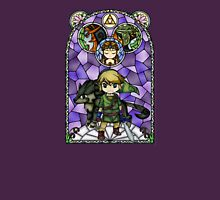 Twilight Princess Stained Glass, Purple Version Unisex T-Shirt
