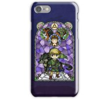 Twilight Princess Stained Glass, Purple Version iPhone Case/Skin