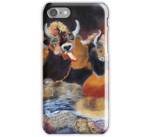 010316 Ancient Buffalo Hunt iPhone Case/Skin