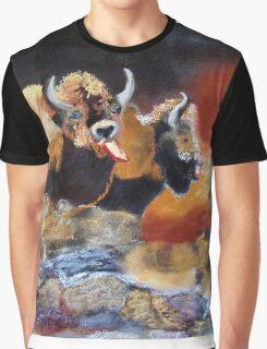 010316 Ancient Buffalo Hunt Graphic T-Shirt