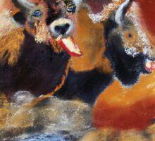 010316 Ancient Buffalo Hunt Sticker