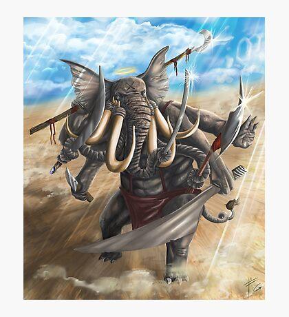elephant god ganesh Photographic Print