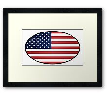 US Flag  Framed Print