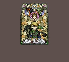 Twilight Princess Stained Glass, Orange Version Unisex T-Shirt