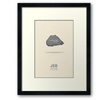 I ROCK! Framed Print