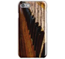 Vintage Musical Notes and Piano iPhone Case/Skin