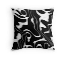 Elusive ripple  Throw Pillow