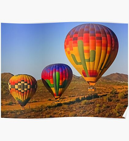 Up, Up. Up and Away in Arizona USA Poster