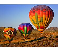 Up, Up. Up and Away in Arizona USA Photographic Print