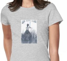 Rey in Snow Womens Fitted T-Shirt
