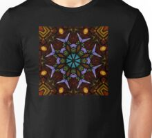 The Wheel of Life - Mandala Unisex T-Shirt