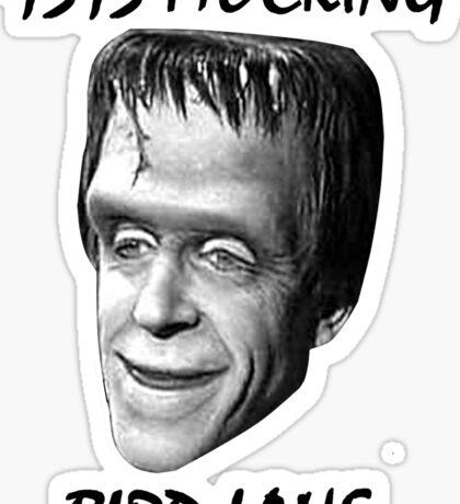 Herman Munster Sticker