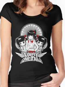 Baby Metal Chibi Women's Fitted Scoop T-Shirt