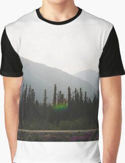 Alaska Mountains Graphic T-Shirt