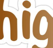 Lehigh Gradient Sticker Sticker