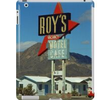 Route 66 - Roy's of Amboy, California iPad Case/Skin