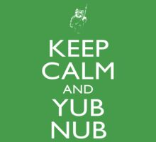 Keep Calm & Yub Nub One Piece - Short Sleeve