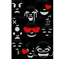 Micky Emoji's Assortment  Photographic Print