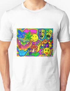 Mardi Gras Collage T-Shirt