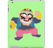 Simplistic Wario Super Smash Bros  iPad Case/Skin