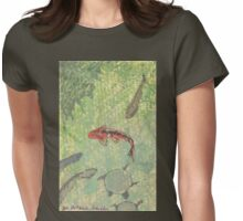 bk koi pond Womens Fitted T-Shirt