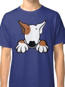 I Want Something Bull Terrier Brown & White Classic T-Shirt