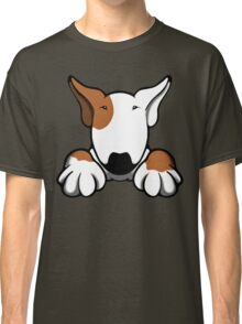 I Want Something Bull Terrier Brown & White Classic T-Shirt