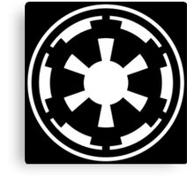 Galactic Empire (white) Canvas Print