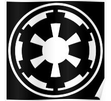 Galactic Empire (white) Poster