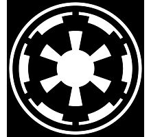 Galactic Empire (white) Photographic Print