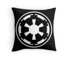 Galactic Empire (white) Throw Pillow