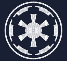 Galactic Empire (white, distressed) One Piece - Short Sleeve