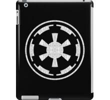 Galactic Empire (white, distressed) iPad Case/Skin