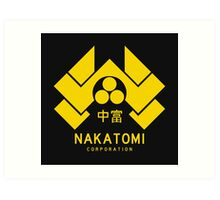 Nakatomi Corporation Art Print