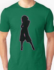 Female Silhouette #13 Unisex T-Shirt