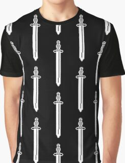 Pixel Sword Graphic T-Shirt