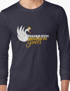 SwanQueen Belongs to Swen Long Sleeve T-Shirt