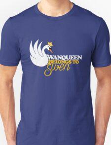 SwanQueen Belongs to Swen Unisex T-Shirt