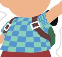 Checkered Ness Sticker