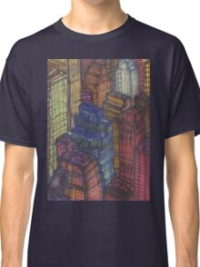 city view from the empire state Classic T-Shirt