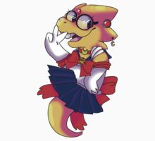 Alphys Sailor Moon Cosplay Kids Tee