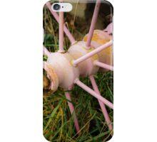 Antique Pink Wagon Wheel iPhone Case/Skin