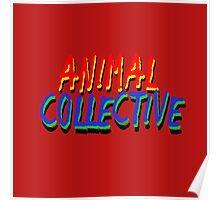 Original Animal Collective #3 Poster